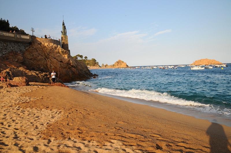 Тосса де Мар. Пляж. Tossa de Mar. Фото 32.