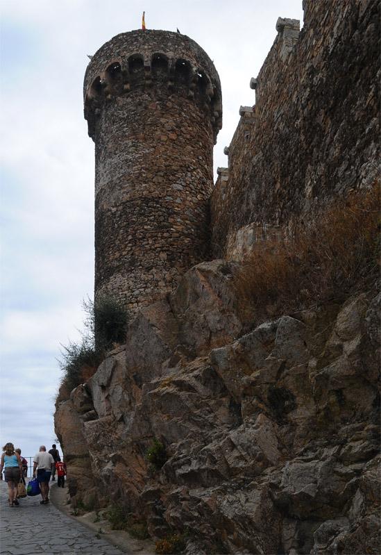 Тосса де Мар. Крепость. Tossa de Mar. 46.