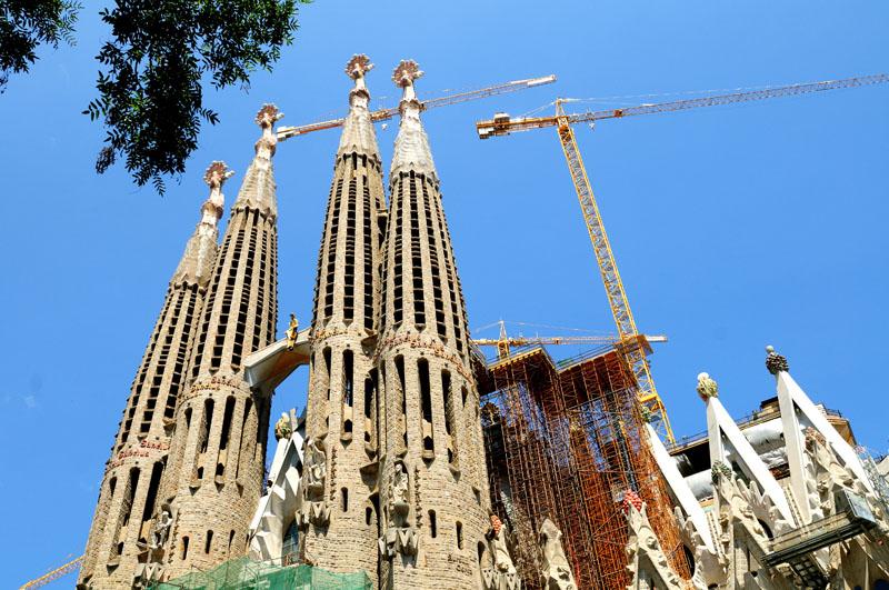 Храм Саграда Фамилия. Барселона.