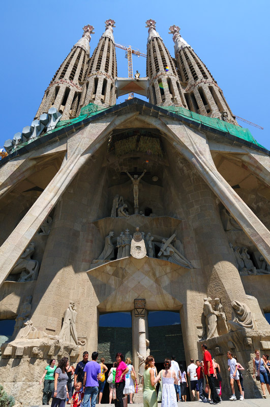 Храм Саграда Фамилия. Барселона