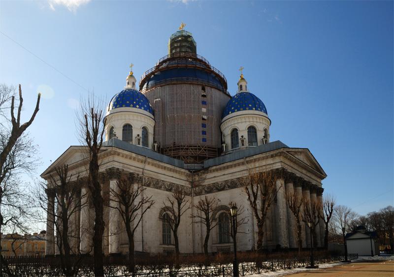Троицкий собор. Санкт-Петербург. 2