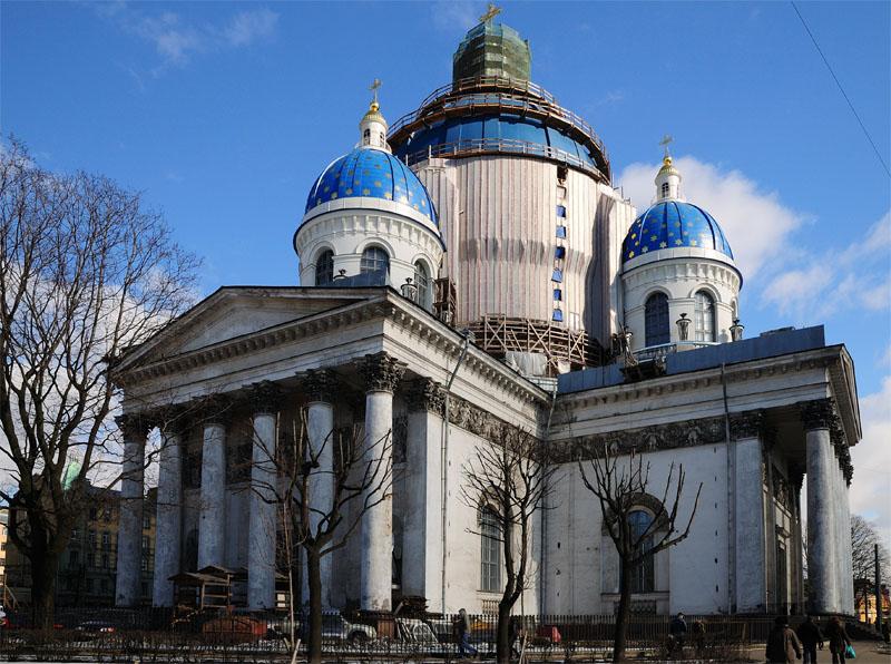 Санкт-Петербург. Троицкий собор. 3