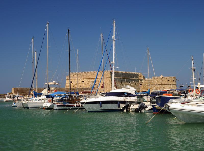 Ираклион. Венецианская крепость и порт. 11