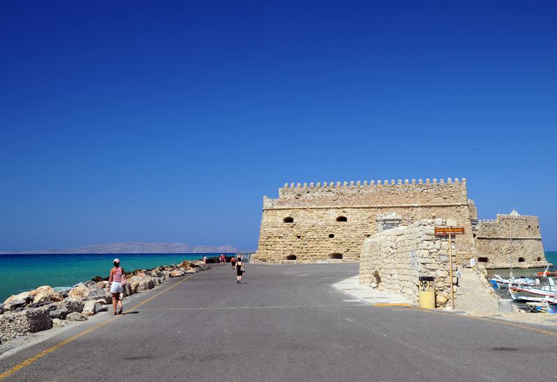 Ираклион. Венецианская крепость и порт. 26