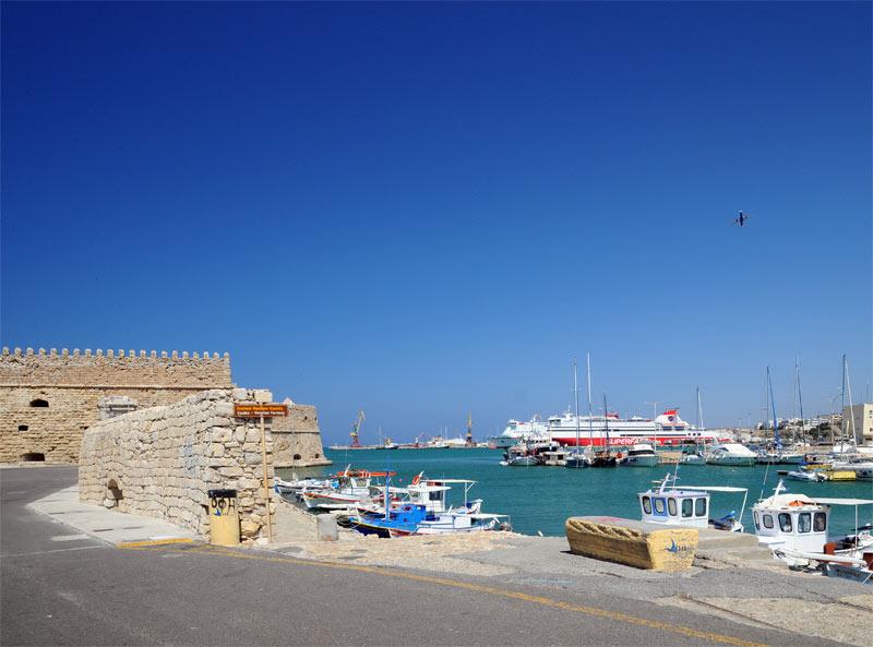 Ираклион. Венецианская крепость и порт. 28