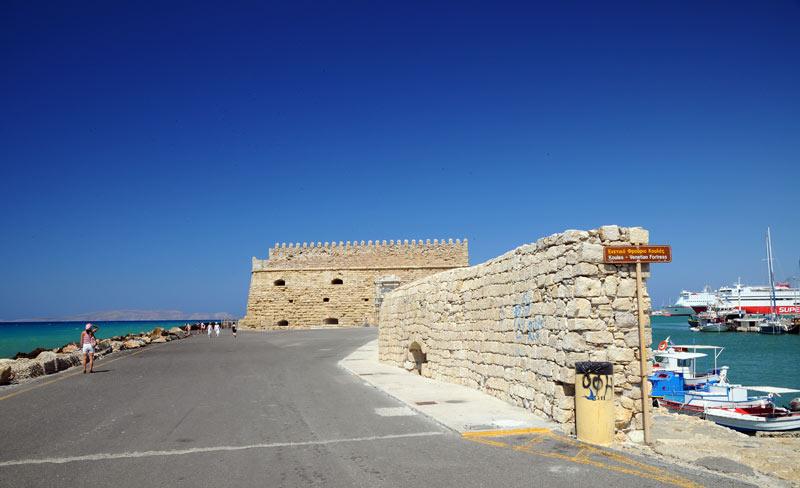 Ираклион. Венецианская крепость и порт. 29