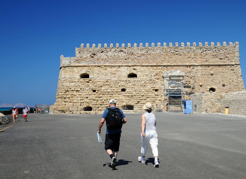 Ираклион. Венецианская крепость и порт. 31