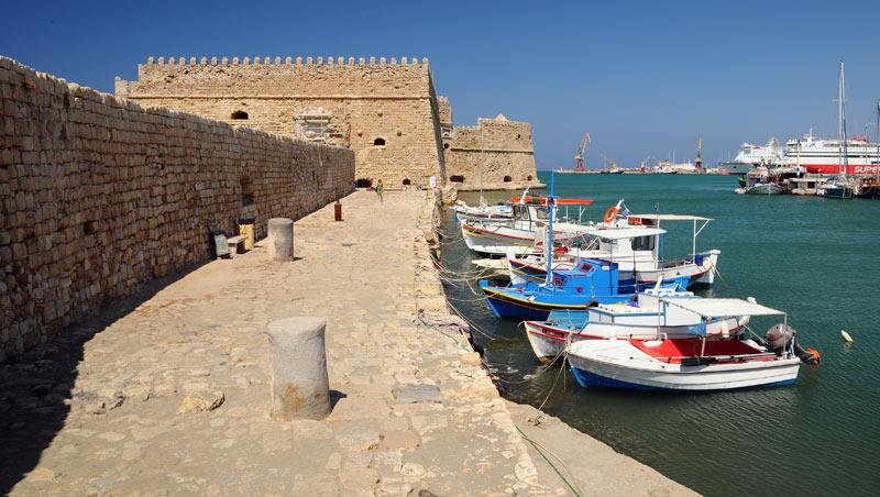 Ираклион. Венецианская крепость и порт. 49