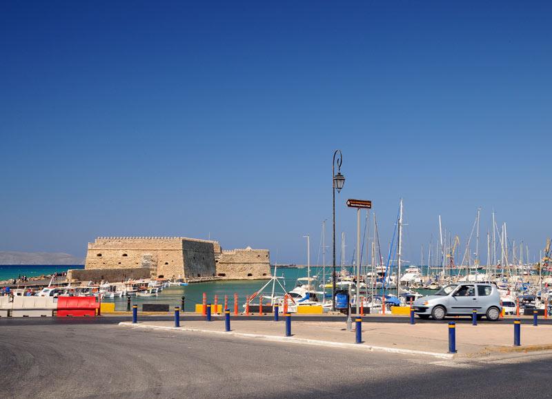 Ираклион. Венецианская крепость и порт. 50