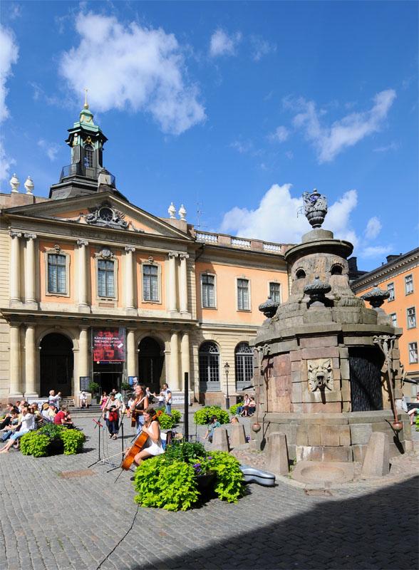 Стокгольм. Площадь Стурторьет. Stockholm. 32