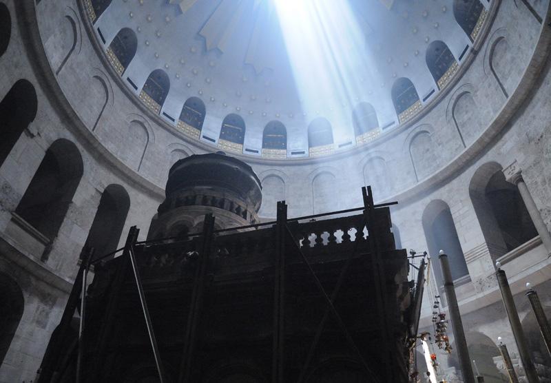 Храм Гроба Господня. Купол. 1