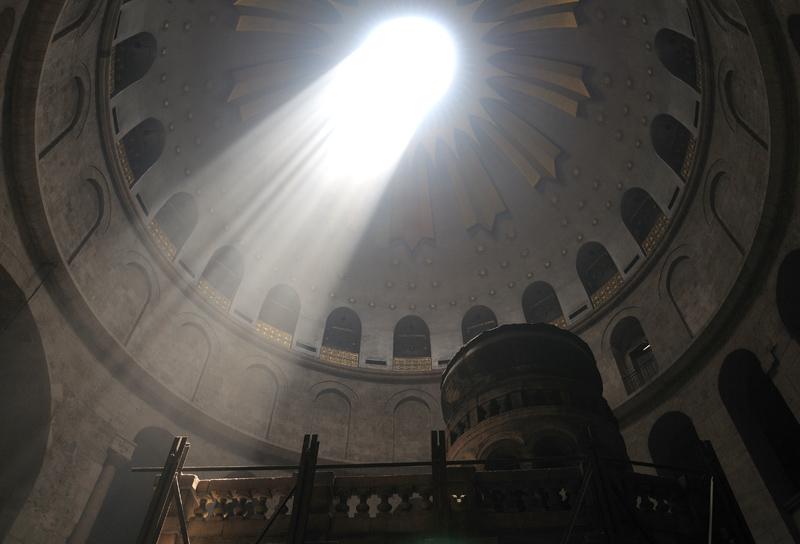 Храм Гроба Господня. Купол. 3