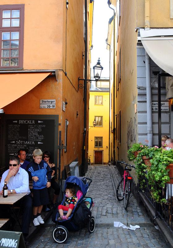 Стокгольм. Площадь Стурторьет. Stockholm. 38