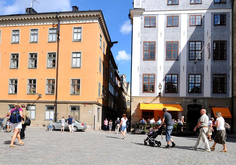 Стокгольм. Площадь Стурторьет. Stockholm. 40