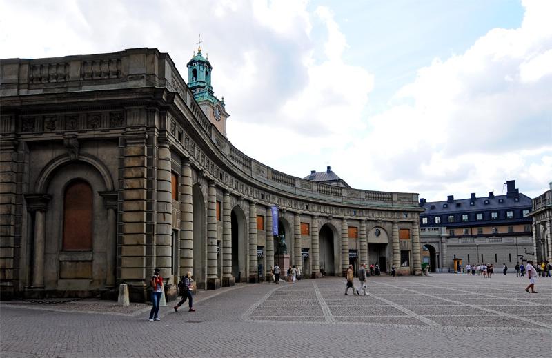 Стокгольм. Королевский дворец. 45.