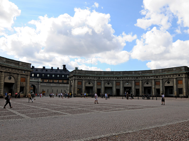 Стокгольм. Королевский дворец. 47.