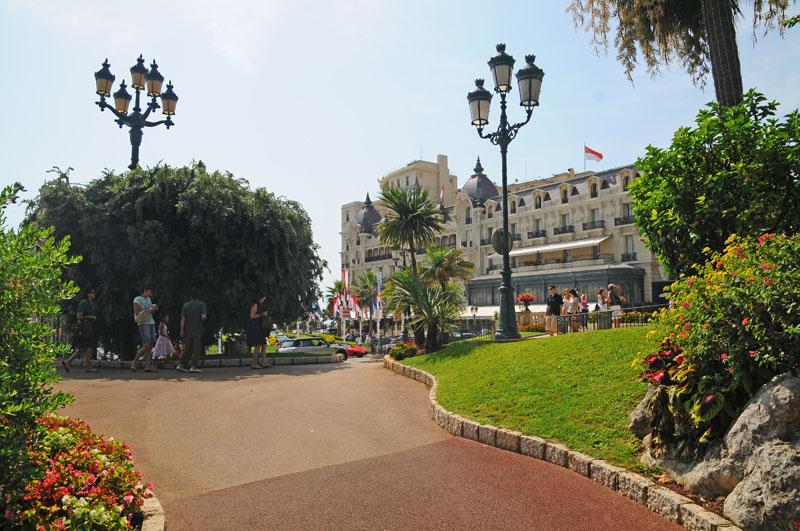 Монако. Парк перед казино. Monaco. Фото 19.