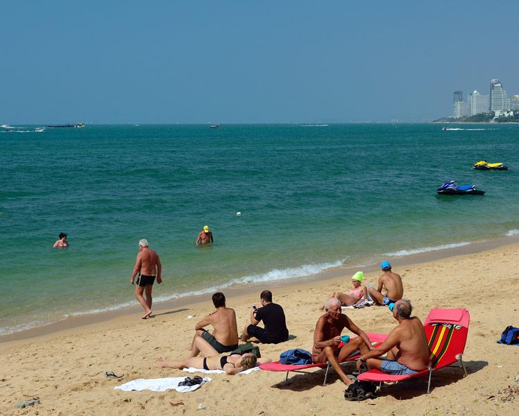 Пляж Паттайя. 2