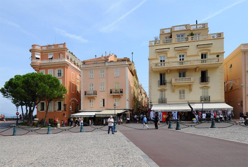 Монако. Крепость. Monaco. Фото 86.