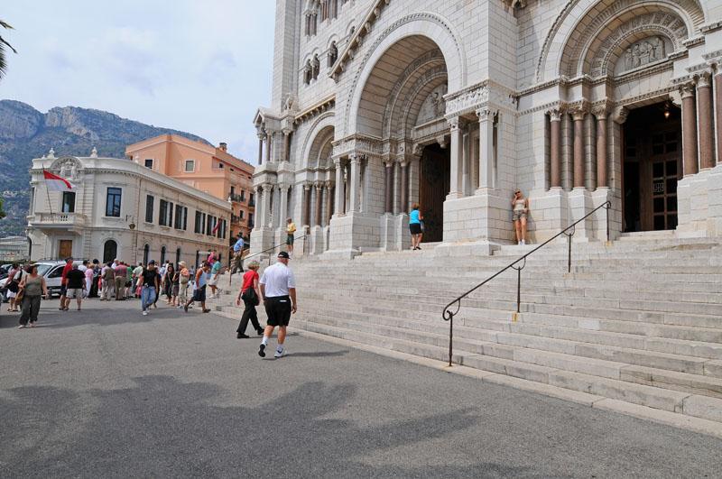 Монако. Кафедральный собор. Monaco. Фото 98.