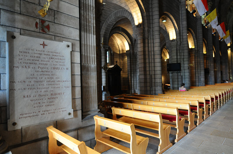 Монако. Кафедральный собор. Monaco. Фото 101.