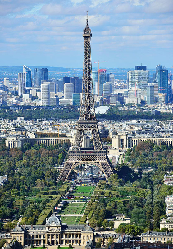 Париж с башни Монпарнас. 5
