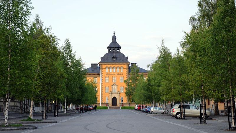 Эстерсунд. Университет. Ostersund. 65