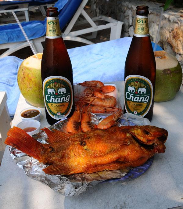 Паттайя. Еда на пляже. Pattaya. 62