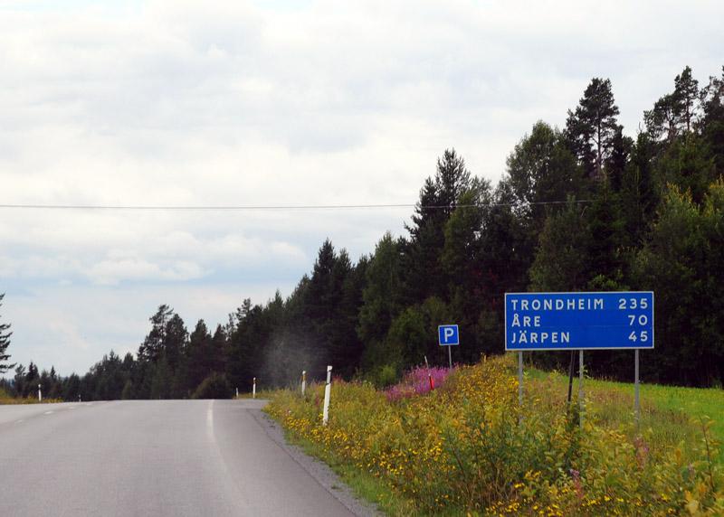 Эстерсунд - Трондхейм. Е14. (c)Smyslik 6