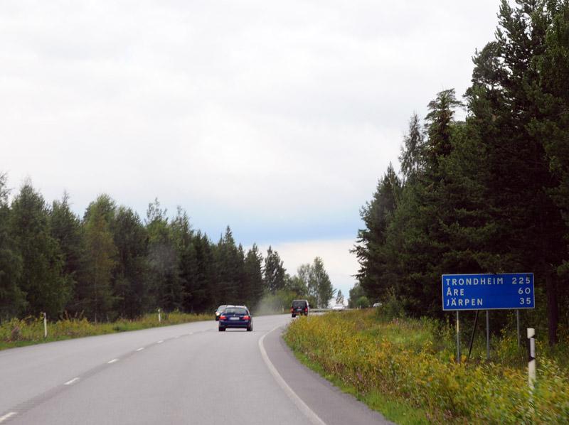 Эстерсунд - Тронхейм. Е14. (c)Smyslik 7