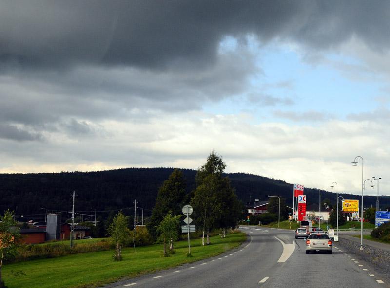 Остерсунд - Трондхейм. Е14. (c)Smyslik 17
