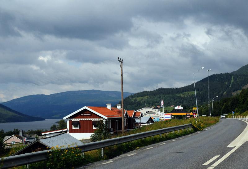 Остерсунд - Трондхейм. Е14. (c)Smyslik 23