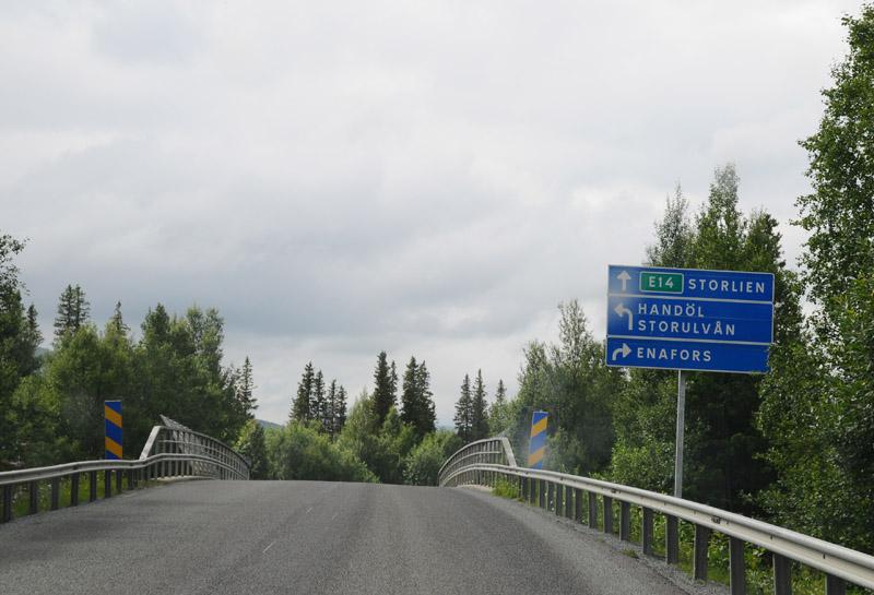 Эстерсунд - Тронхейм. Е14. (c)Smyslik 38