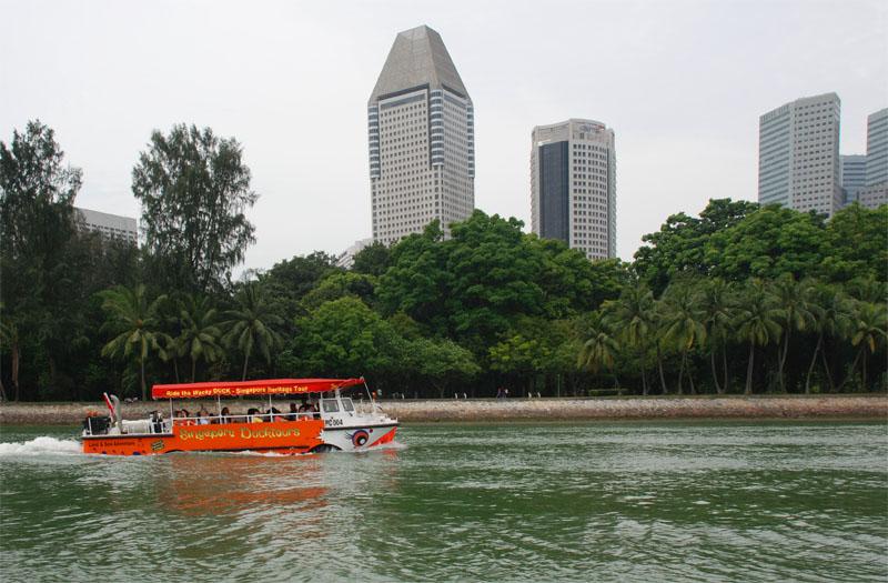 Сингапур. Singapore. Duck Tours.