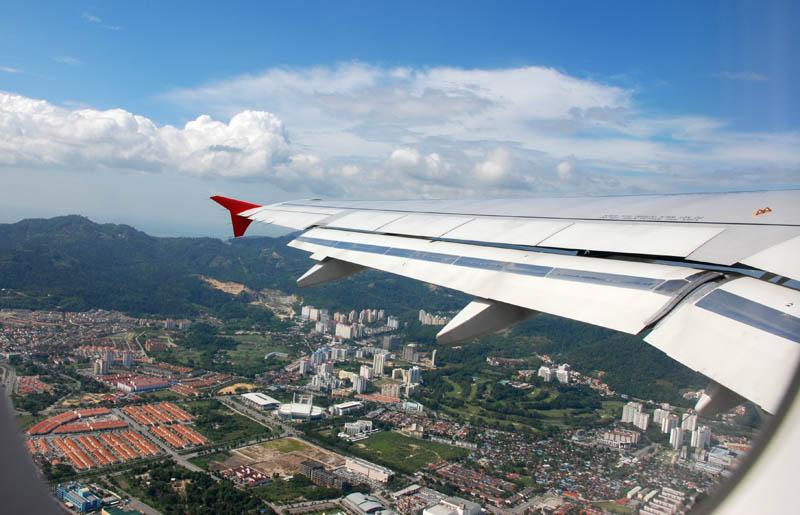 Малайзия. Авиакомпания ЭйрАзия. Malaysia. AirAsia.