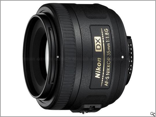 Nikon AF-S Nikkor 35mm f/1.8 G DX