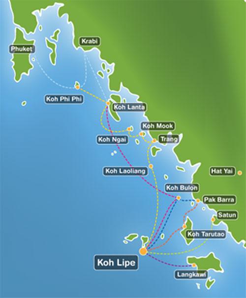 Острова южного Таиланда