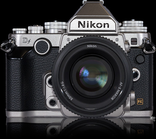 Nikon DF. (c) dpreview
