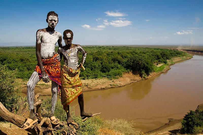 Долина Омо. Эфиопия.