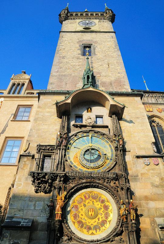 Староместская площадь. Астрономические часы.